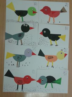 juf Rita pcbs t Mozaïek :: jufritapcbsmozaiek Winter Kids, Winter Art, Art For Kids, Crafts For Kids, Arts And Crafts, Bird Crafts Preschool, Bird Nest Craft, Bird Theme, Kindergarten Art