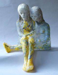 christina bothwell glass | ... cast glass, raku clay, oil paint Christina Bothwell Glass sculptures