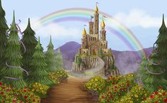 Castle Rose Mural - Andee Anderson| Murals Your Way
