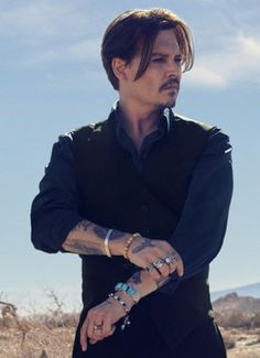 ✂ | Johnny Depp for Dior.