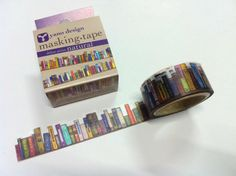 is the washi tape I want to get. Bookish masking tape from LightLife I Love Books, Books To Read, My Books, Masking Tape, Washi Tape, Tools And Toys, Book Nooks, Book Nerd, Just In Case