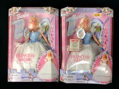 Lot of 2 Barbie Princess Bride Doll