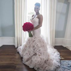 98.73$  Buy here - http://viqko.justgood.pw/vig/item.php?t=a8qo2h255223 - Ivory Tiered Tulle Beading Mermaid Wedding Dresses Formal Bridal Gowns Custom