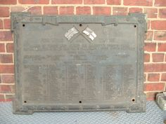 Arthur Balfour Ltd, Roll of Honour, Kelham Island, Sheffield