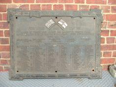 Arthur Balfour Ltd, Roll of Honour, Kelham Island, Sheffield