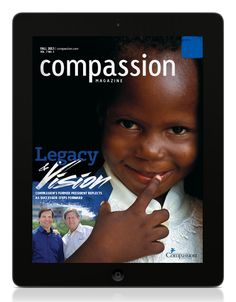 Download the Fall issue of Compassion Magazine on the iPad! http://cintl.us/1nz