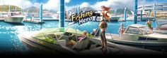 """Fishing Hero"""" is the fishing MO, which captures unique fun of fishing."""