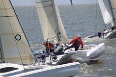 Photo of the Corsair Marine Sprint MkII trimaran. See more photos on our website at: http://corsairmarine.com/trimarans/sprint-750-mk-ii/ #sailing #sail #corsair #corsairmarine #sprintmkii