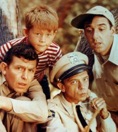 Andy Griffith show... We use to always have Andy Griffith marathons when we were younger :)