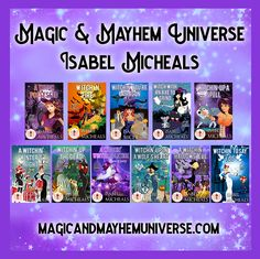 Jump into some Magick & Chaos with Isabel Micheals in the Magic & Mayhem Universe. #MagicMayhemUniverse #ebook #pnr #UnleashTheMagic #MMUSeries #paranormal #author #reading