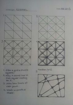 zentangle pattern | Flickr - Photo Sharing!