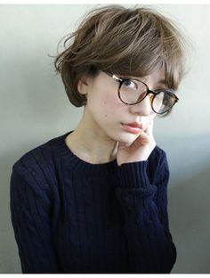 【nanuk】秋冬カラー◇透明感スモーキーマットアッシュカラー◇:L001359797|ナヌーク シブヤ(nanuk shibuya)のヘアカタログ|ホットペッパービューティー