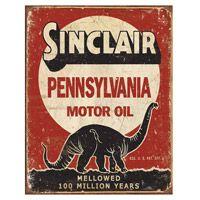 Sinclair Motor Oil Tin Sign  http://www.retroplanet.com/PROD/37452