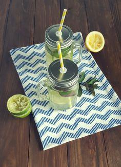 Limetten-Minze Limo