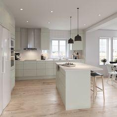 Kitchen Room Design, Interior Design Kitchen, Kitchenette, New Kitchen, Interior Inspiration, House Design, House Styles, Furniture, Home Decor