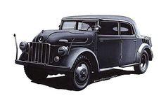 """#Steyr #1500A #1942 #Steyr1500A #History #4x4 #Illustration #Art"""