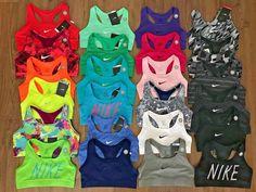 Details about Nike Pro Printed Victory Compression Sports Bra Combat Dri-Fit Racerback 375833 Cute Nike Outfits, Cheer Outfits, Cute Lazy Outfits, Sporty Outfits, Teen Fashion Outfits, Athletic Outfits, Nike Pro Outfit, Gym Outfits, Sports Bra Outfit