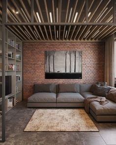 homedesigning: (via Exposed Brick: Two Ways)