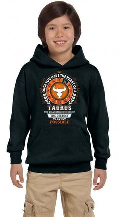 Taurus - Deepest Loves Possible Youth Hoodie