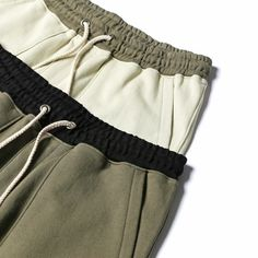 """@KNYEW """"Drop Crotch Shorts"""" in Sand + Olive  Available now in-store + online   #Knyew #Summer2015"""