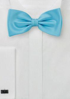 Designer Bow Tie in Mermaid Blue  #bowsnties @Harriet Galloway-N-Ties .com