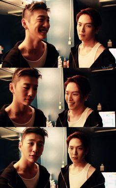 Yongguk and Himchan