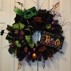 Hey, I found this really awesome Etsy listing at https://www.etsy.com/listing/200701310/halloween-wreath-ghost-manor-halloween