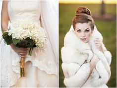 Classic, Elegant, Old World Winter Wedding | Bridal Musings | A Chic and Unique Wedding Blog