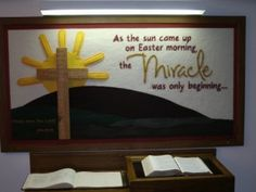 Christian Easter Bulletin Boards   easter_bulletin_board