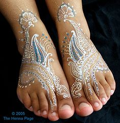 color tattoo henna | ... too young for henna enjoy gilding paste's bright colors andsparkles