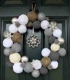 Christmas Tree Ball Crafts, I so want to make this!!!!
