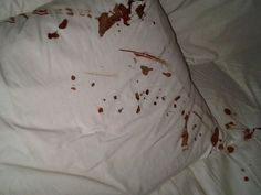 He beat her until blood painted the cotton sheets #amwriting