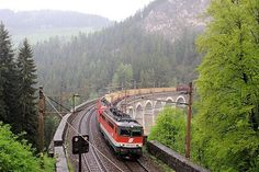 Semmering Railway, Between Gloggnitz, State of Lower Austria and Simmering, State of Styria, Austria. Inscription in 1998. Criteria: (ii)(iv)