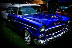 """1955 Chevy Bel Air"" Fine Art Prints by David Patterson #classicCarss #Chevys #cars"