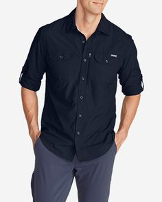 Men's Exploration Long-Sleeve Shirt