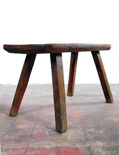 18th Century Antique French Rustic Farm Table | Chairish
