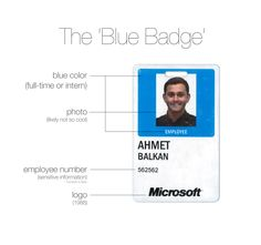 the blue badge reimagined homealp corporate id business card design