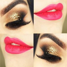 Tutorial – maquiagem dourada para o Ano Novo