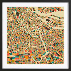 Amsterdam as Framed Poster by Jazzberry Blue | JUNIQE