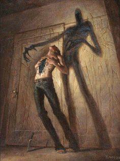 Horror Art by Christopher Rahn