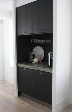 Built in kitchen cabinet