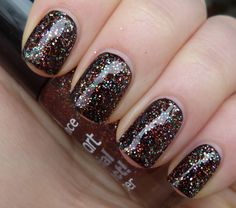 Essence - Copper'ize Me (shown here is one coat over black)
