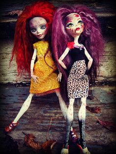 Glamour Zombies by CindySowers, via Flickr