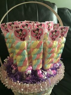 Minnie Mouse Birthday Party  Marshmallows by FantastikCreations