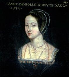 Portrait of Anne Boleyn, 1533. Chateau de Beauregard, France.