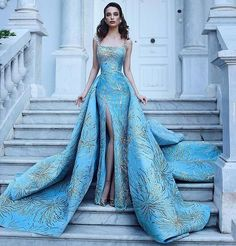 Best Design Ideas for Haute Couture Dresses Elegant Dresses, Pretty Dresses, Formal Dresses, Vintage Dresses, Elegant Ball Gowns, Formal Prom, Formal Wear, Beautiful Gowns, Beautiful Outfits