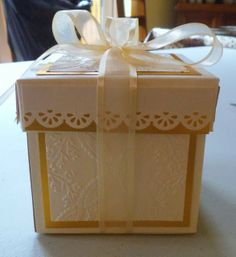 If you need any help with your Card Making please post a comment, and I will get back to you as soon as I can. Exploding Box Template, Exploding Boxes, Vintage Cards, Gift Bags, Your Cards, Decorative Boxes, Card Making, Paper Crafts, Scrapbook