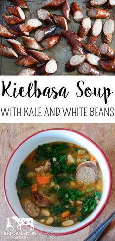 Kielbasa Soup with K