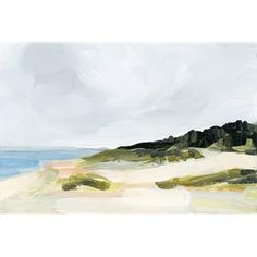 MONTAUK - Juniper Print Shop Vintage Landscape, Beach Landscape, Fantasy Landscape, Bd Art, Winter Beach, Malibu Beaches, D House, Living In New York, The Draw