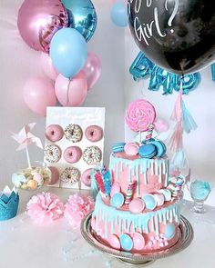 Gender Reveal Party Baby shower gender reveal party ideas girl or boy old wives … – Fashionhome Simple Gender Reveal, Twin Gender Reveal, Gender Reveal Announcement, Gender Reveal Party Games, Gender Reveal Themes, Gender Reveal Balloons, Gender Reveal Party Invitations, Gender Reveal Party Decorations, Gender Party